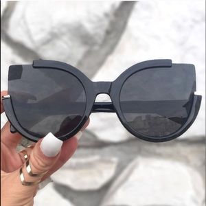 Black Cat Eye Sunnies | Chloe | Topfoxx